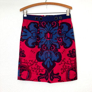 LEIFSDOTTIR Pink & Blue Pattern Skirt